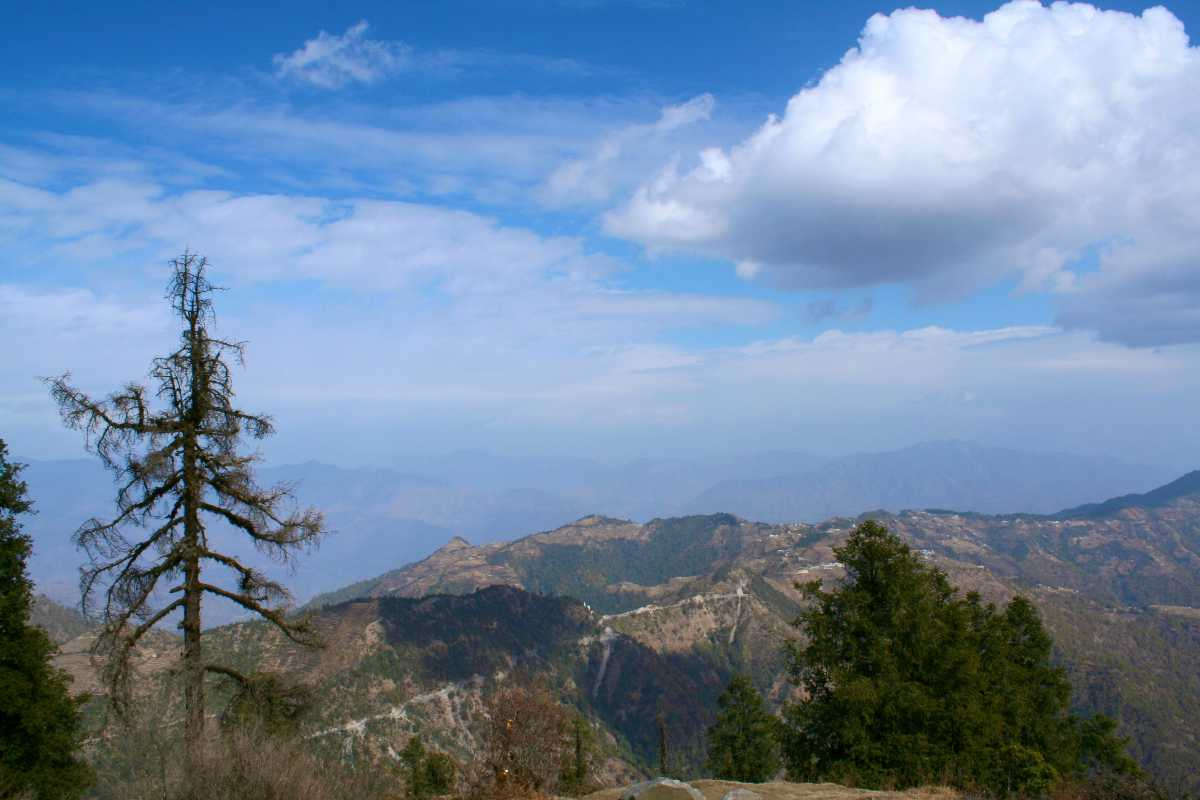 View from Dhanaulti, Uttarakhand