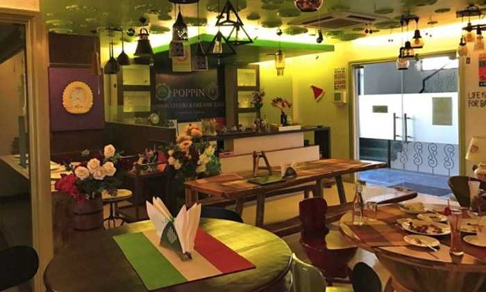 Poppin Organic Cafe, Cafes in Jaipur