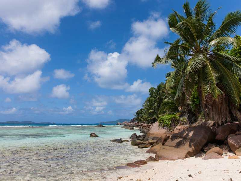 Anse La Blague, Beaches in Praslin Island
