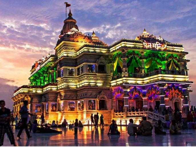 Image result for mathura vrindavan temple