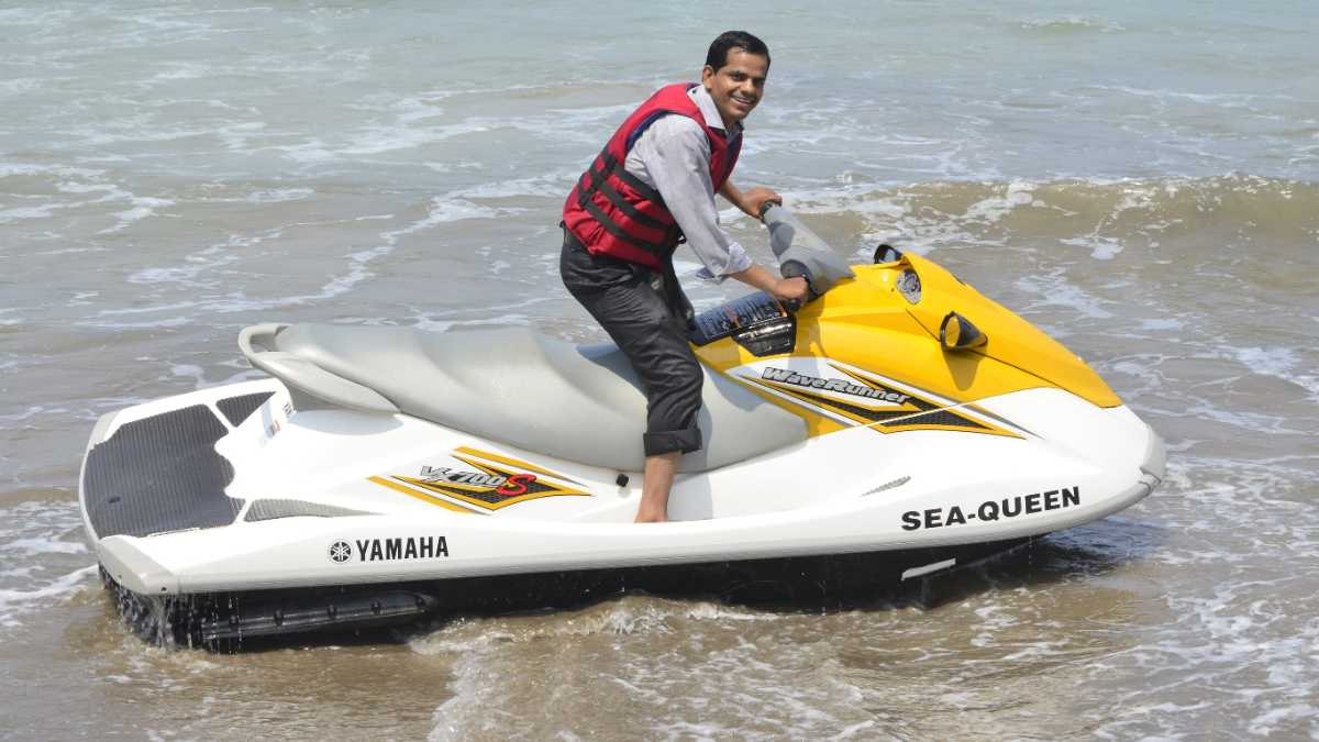 Jet Ski at Mypadu Beach
