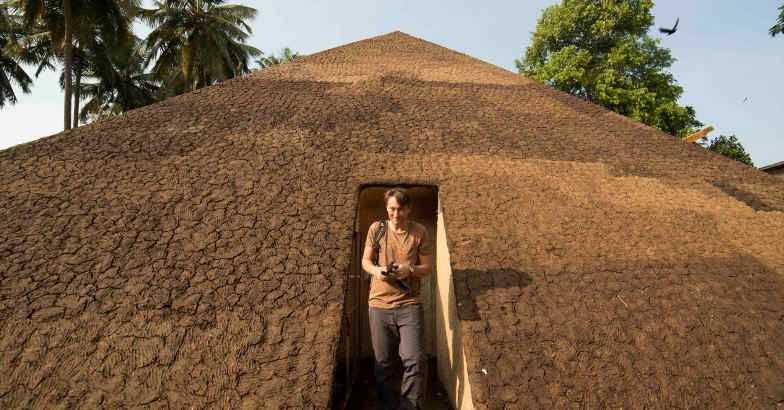 Pyramid of exiled poets kochi biennale best work