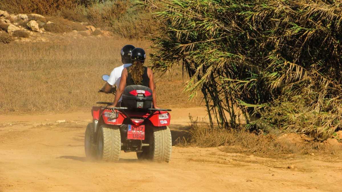 Quad biking in Mauritius, Mauritius in July