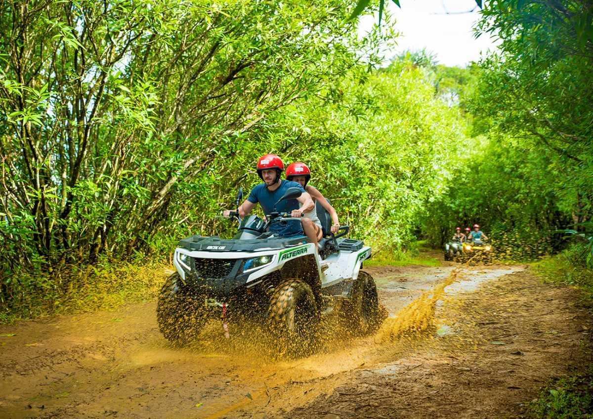 Vallee des Couleurs Nature Park, quad biking in Mauritius, excursions in Mauritius