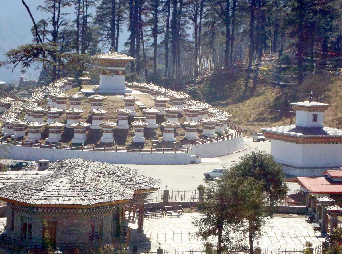 Dochula Pass, Driving Your Own Car in Bhutan
