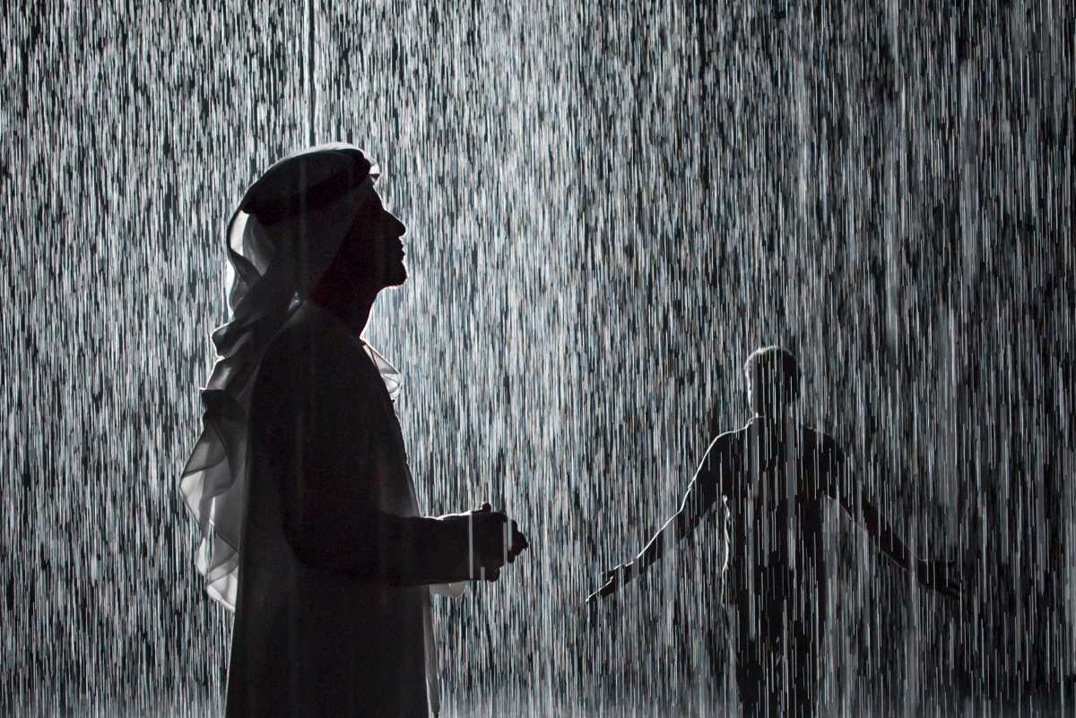 Rain Room at Sharjah Art Foudation
