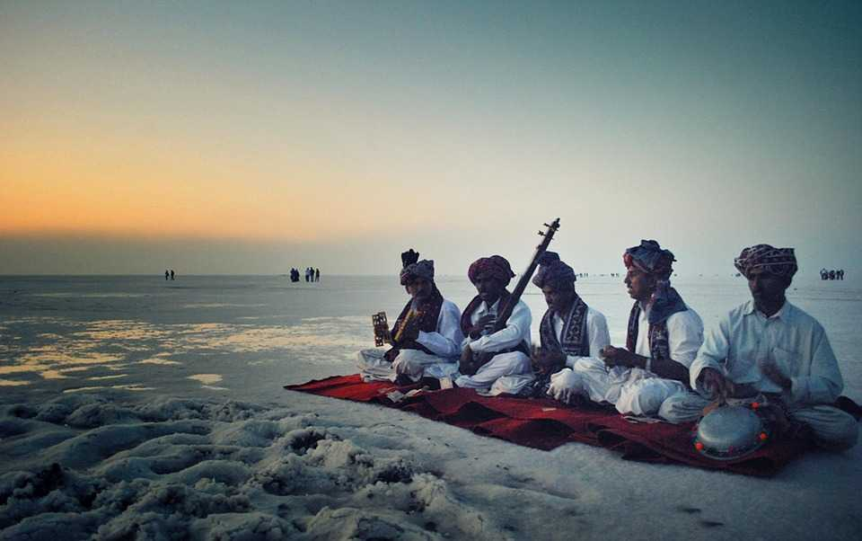 Rann Utsav Amidst The White Sands