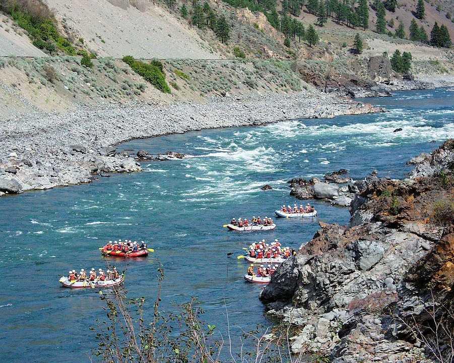 River Rafting at Puna Tsang Chhu