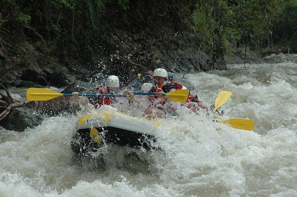 River Rafting in Bhutan