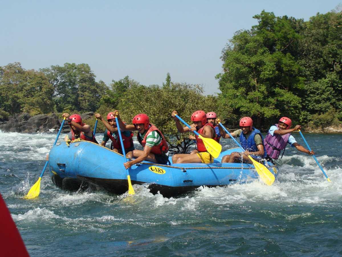 River Rafting in Sita Nadi