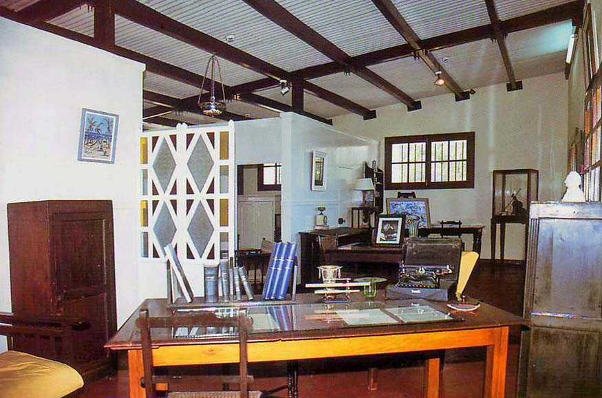 Edward Hart Museum Souillac in Mauritius