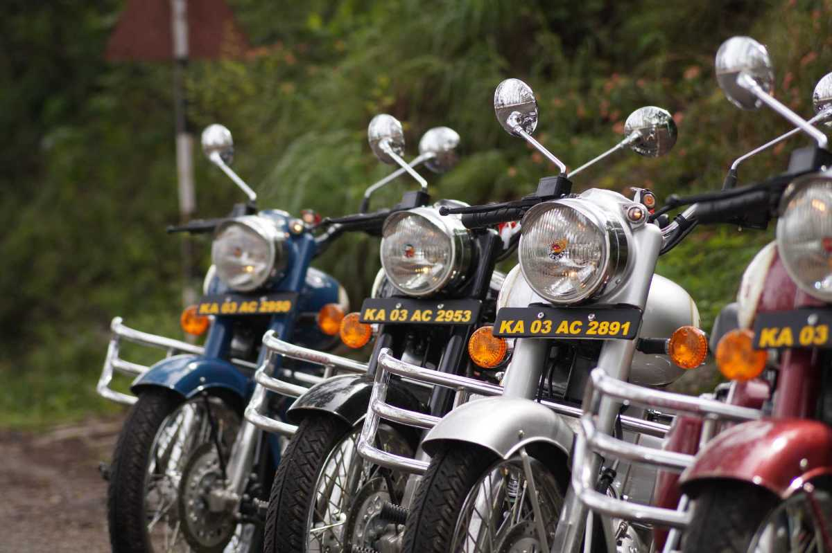 Bike on rent in Bangalore