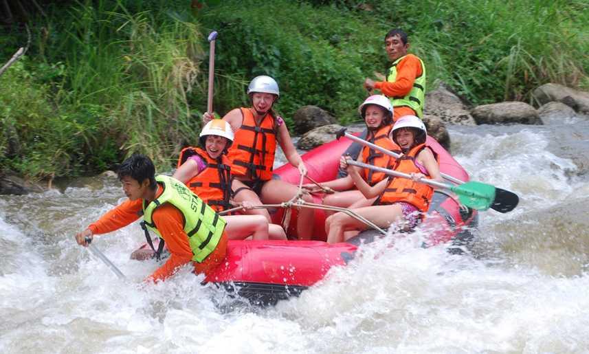 White Water Rafting in Krabi Thailand