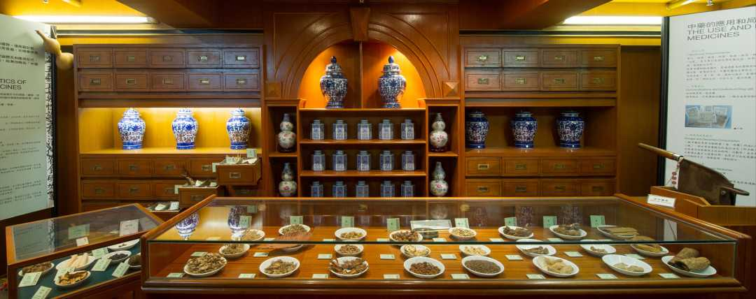 The Herbalist Shop at Hong Kong Museum of Medical Sciences