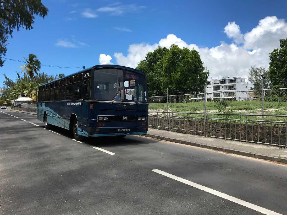 Getting around Mauritius