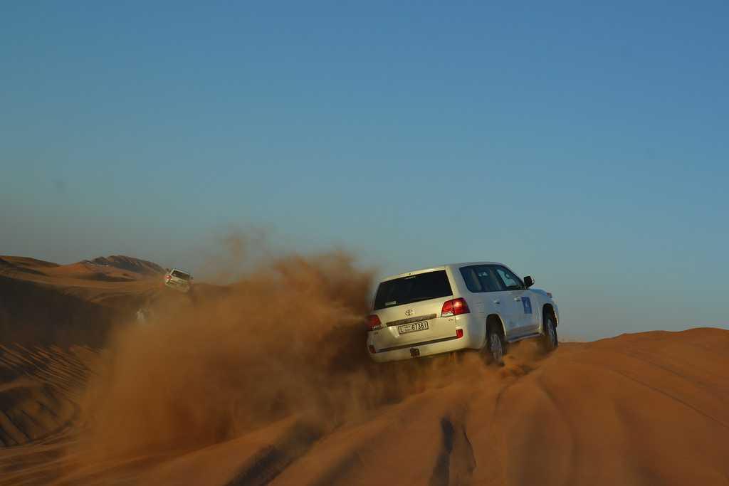 desert safari safety