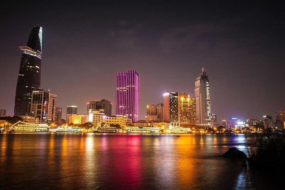 Saigon River at Night, Ho Chi Minh Nightlife