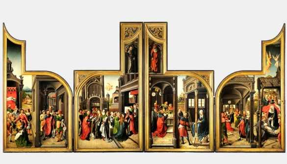 saluzzo masterpiece, city museum, brussels