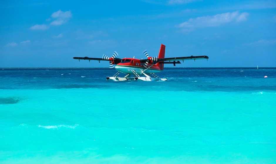 Sea Plane Ride, water sports in Mauritius