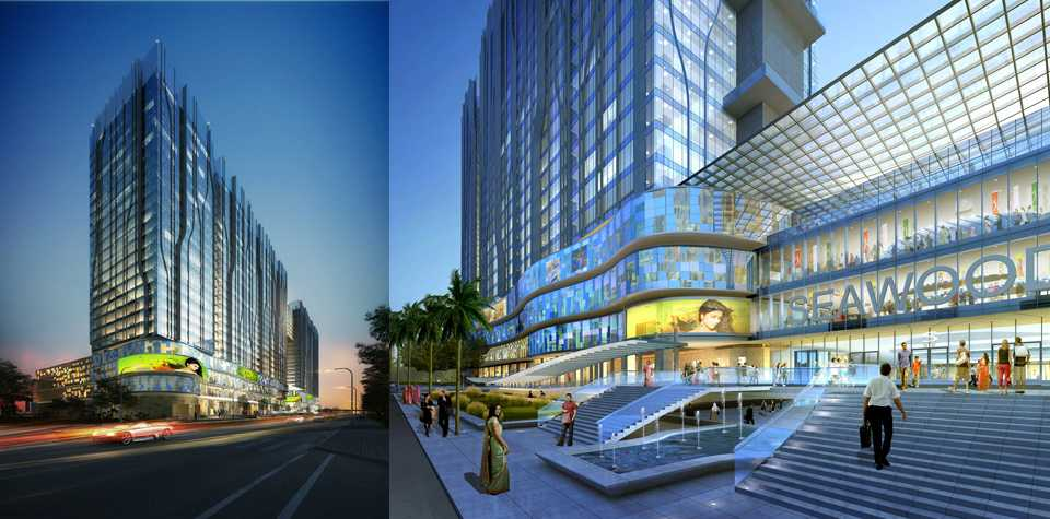 malls in mumbai, seawoods grand central