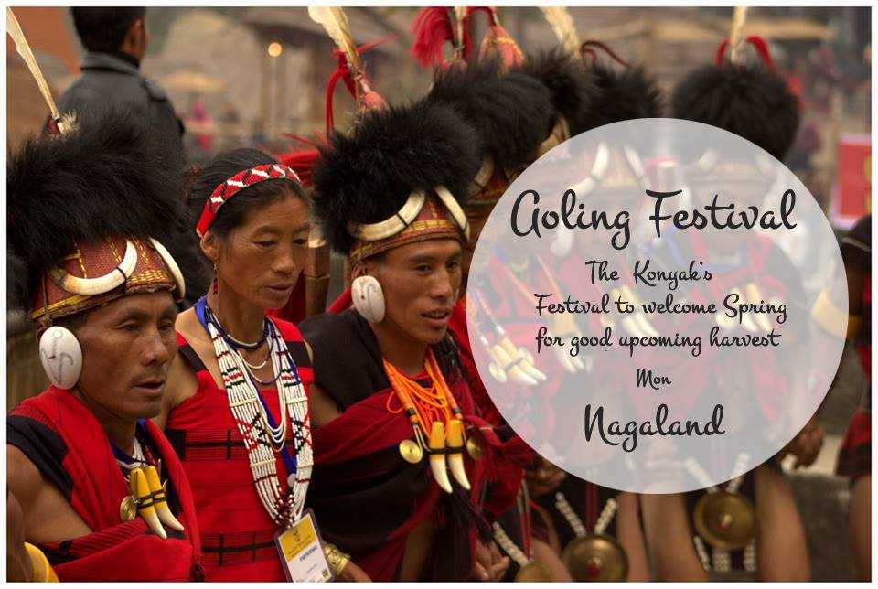 The Aoling Festival of the Konyak Tribe