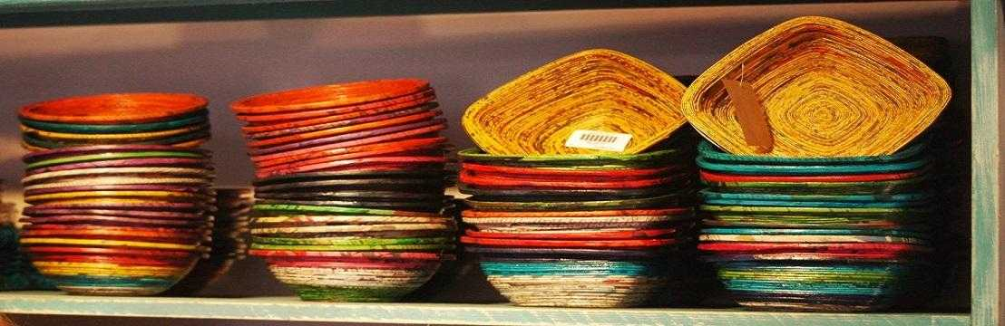 Colourful Bowls at Earthbound Creations