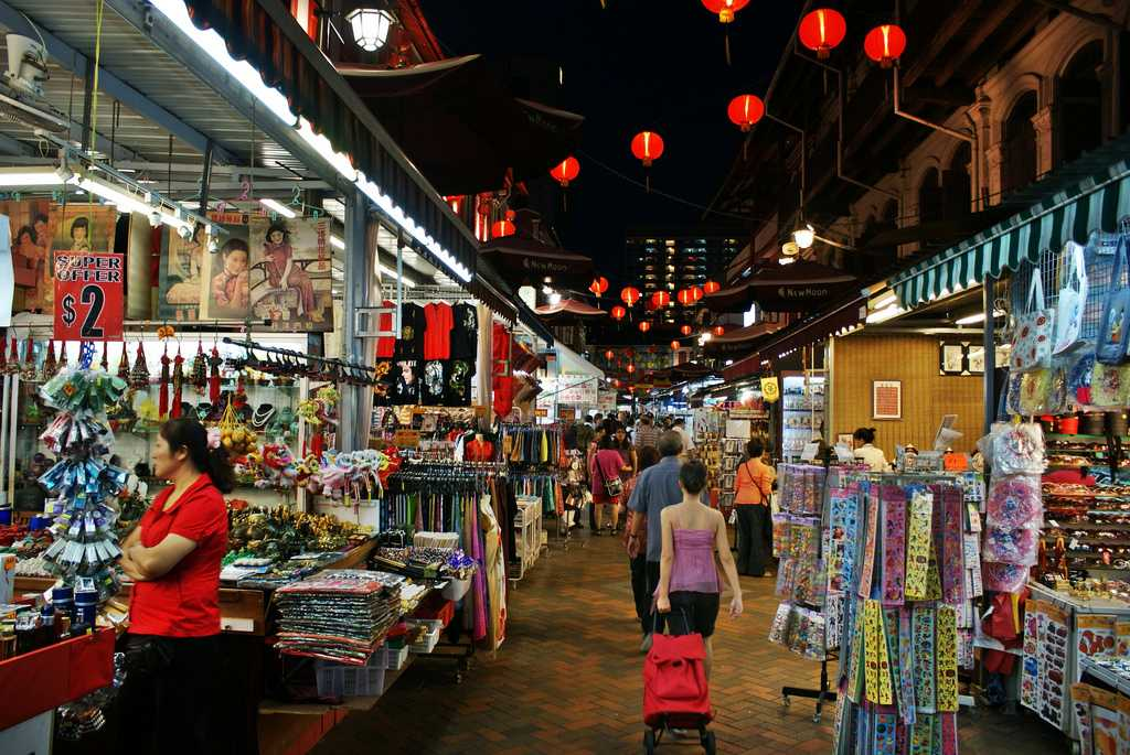 Shopping, Singapore in March