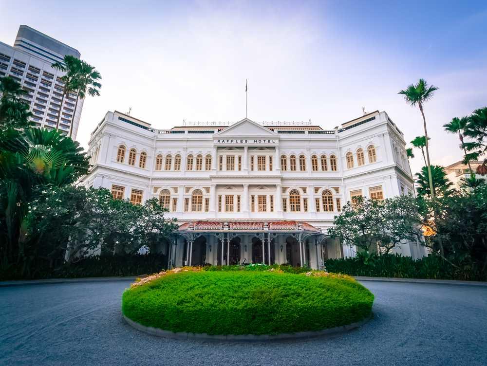 Raffles Hotel in Singapore
