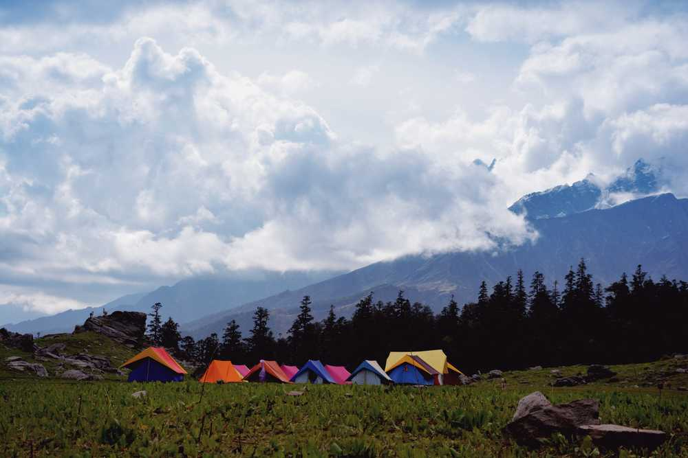 Camping in Derant