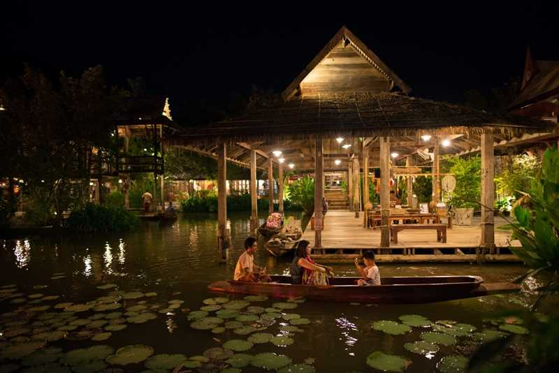 Thai Village at Siam Niramit, Phuket
