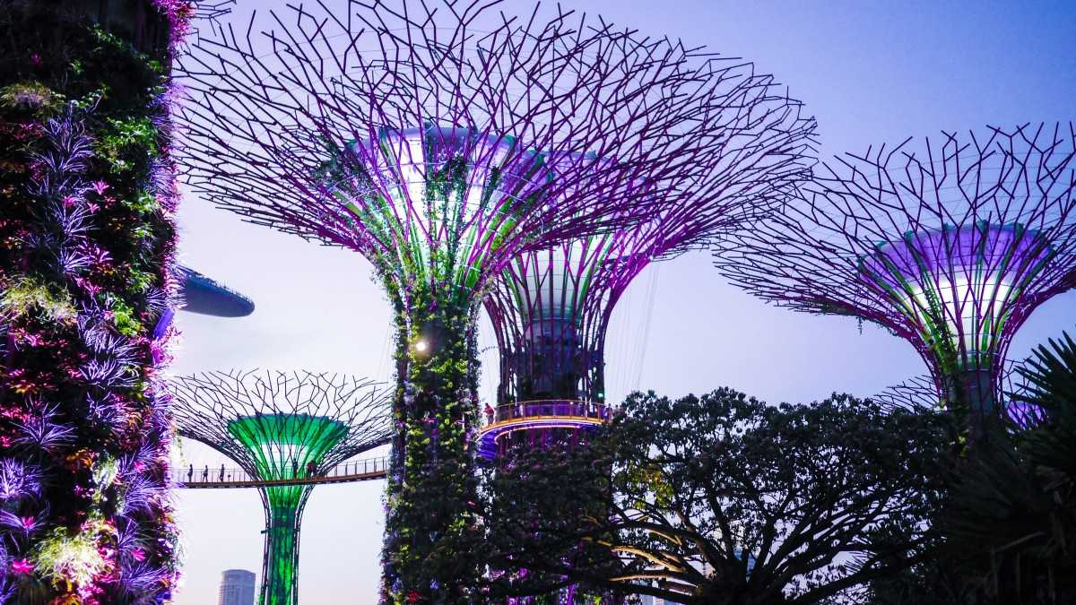 Gardens by the Bay, Romantic Places in Singapore
