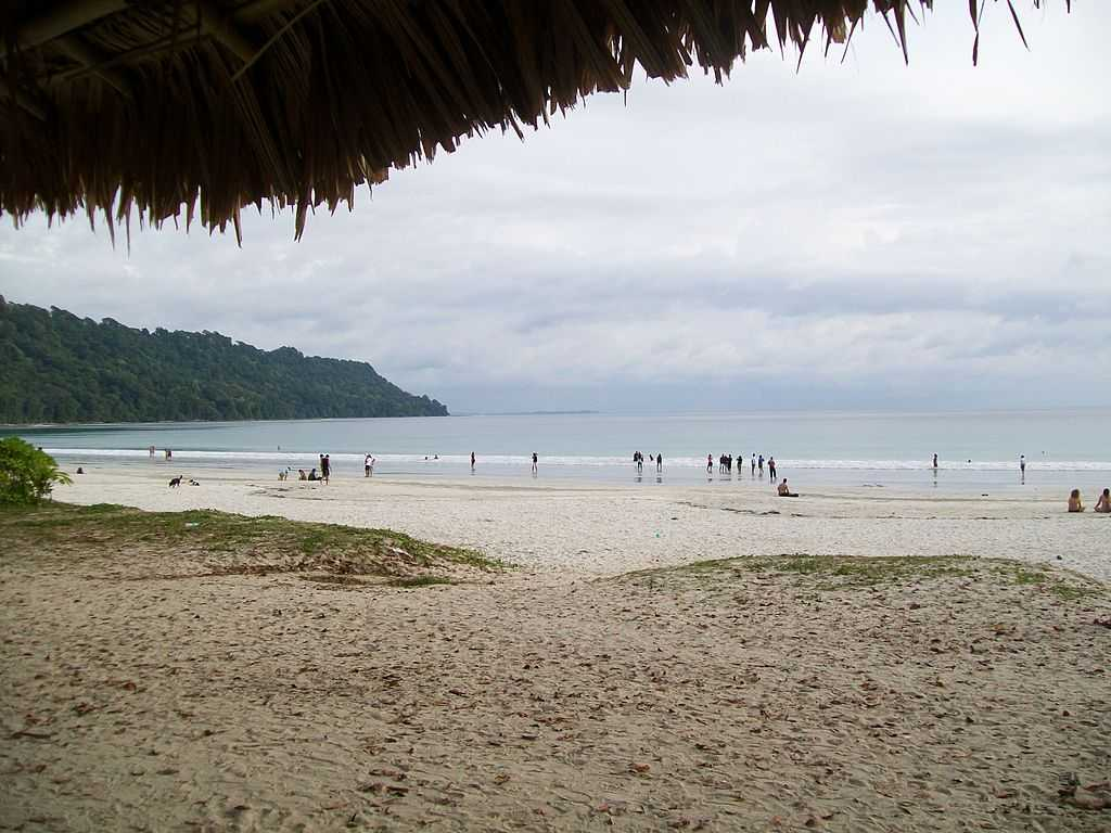 Radhanagar Beach in Havelock islands