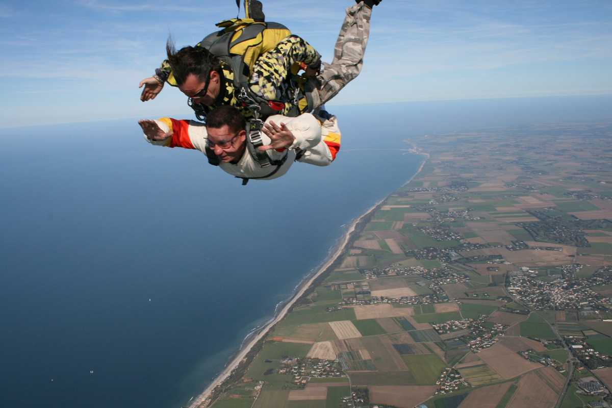 Skydiving in India: 7 Places for Skydiving in India With Cost