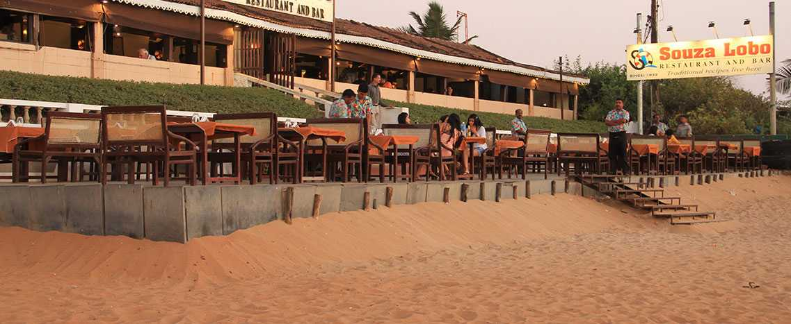Souza Lobo, Goa, Beach Shacks Goa