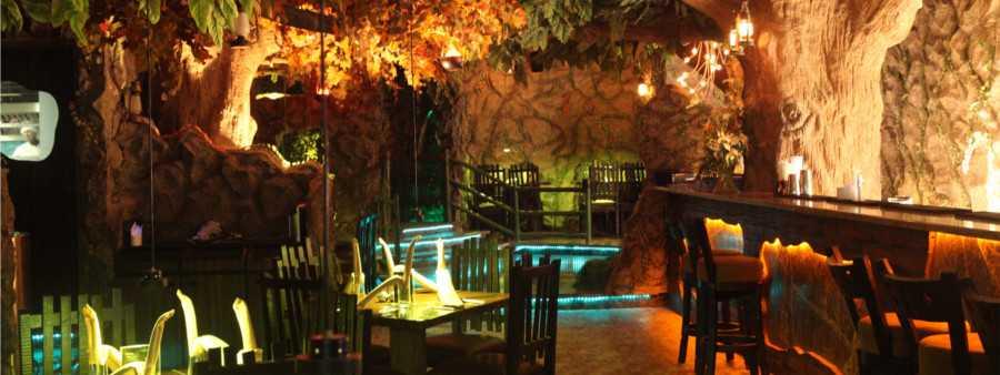 romantic places in mumbai, rainforest resto-bar