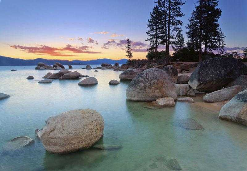 Lake Tahoe Area, Places to Slackline in the World
