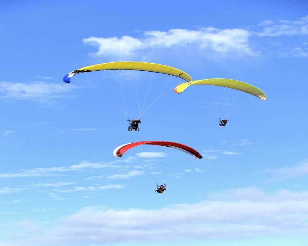 Paragliding in Calangute