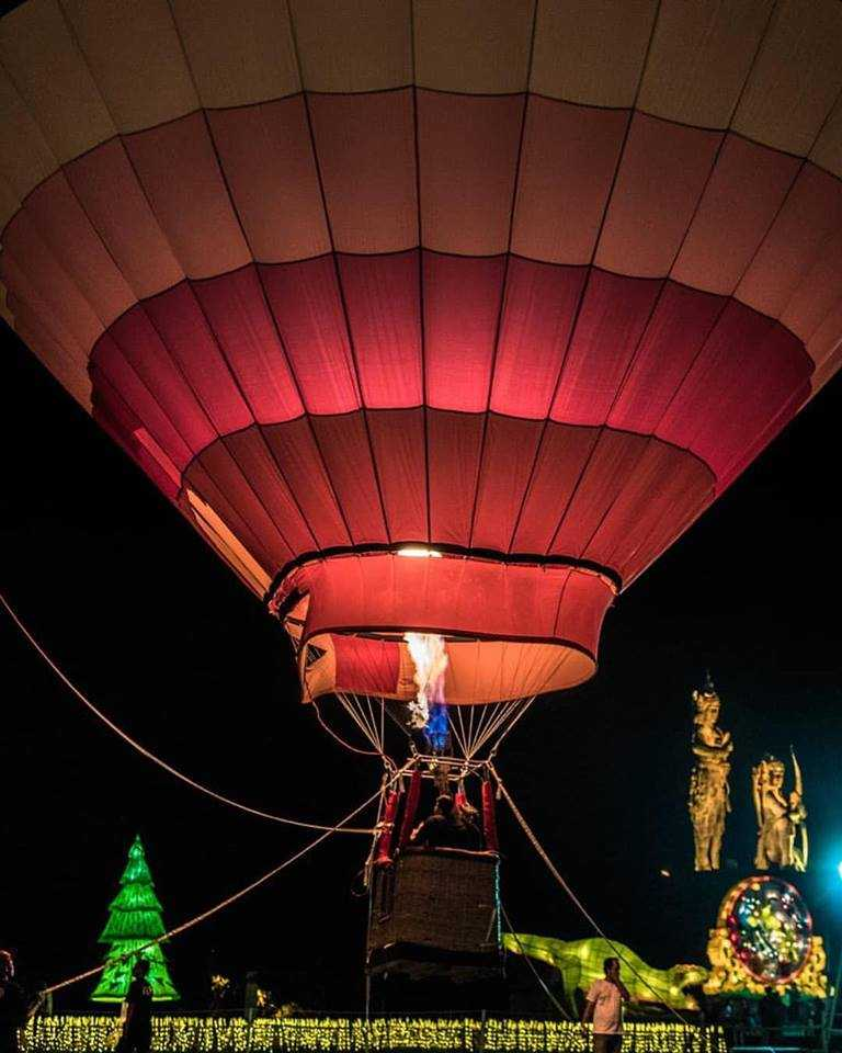 Hot Air Balloon at the Nusa Dua Festival
