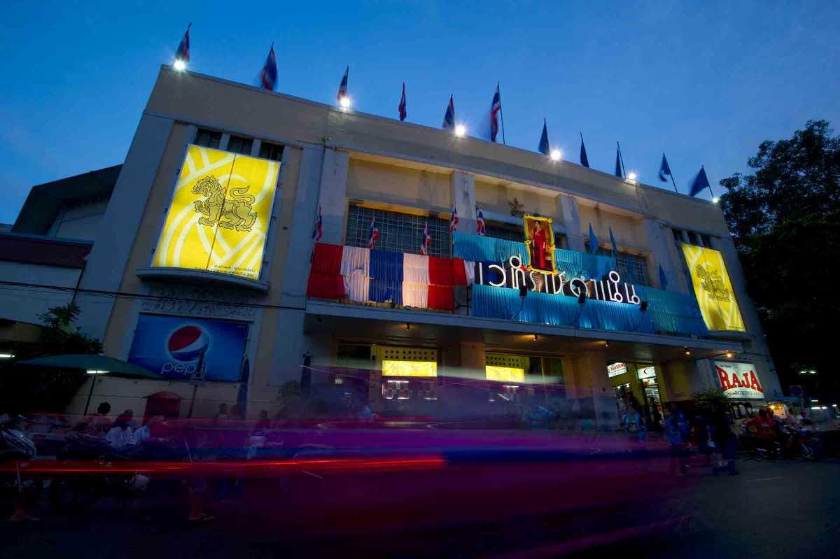 Rajadamnern Stadium Bangkok Thailand