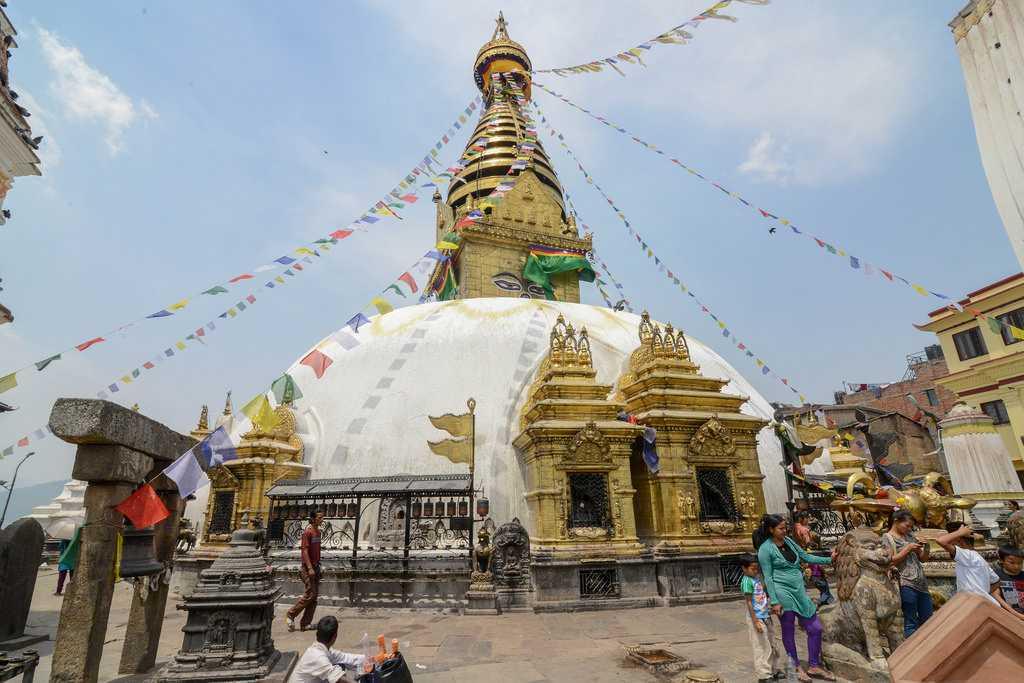 Swayambhunath temple, <a href=