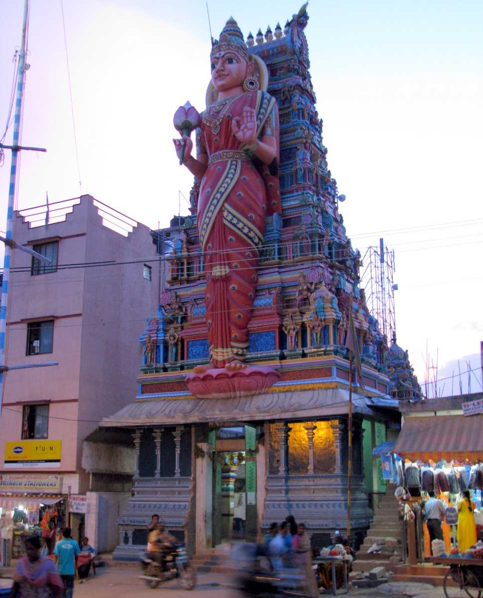 A temple in Bangalore