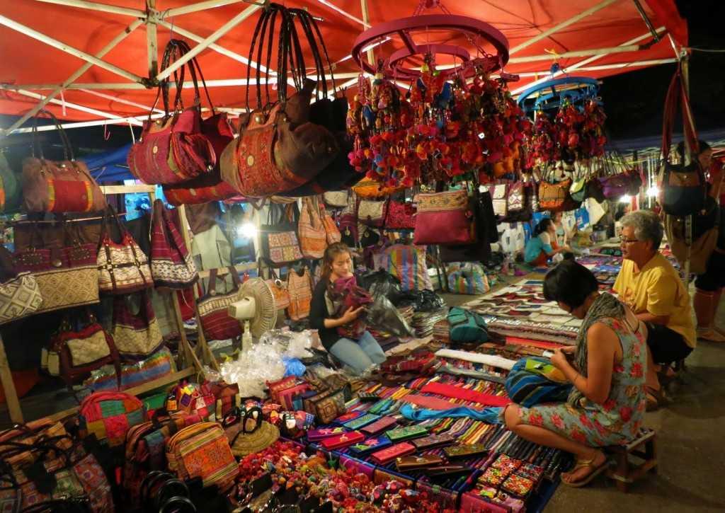 Hanh Thong Tay, Night Market In Ho Chi Minh City