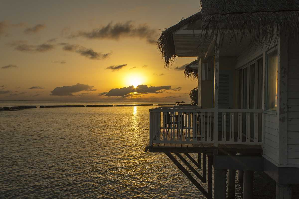Overwater bungalow in Maldives, Top 10 overwater bungalows in the world