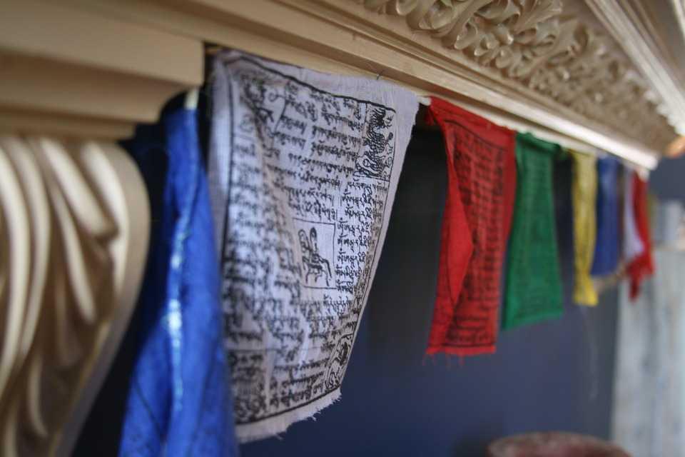 Tibetan Prayer Flags, Shopping in Ladakh