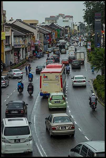 Traffic in Penang