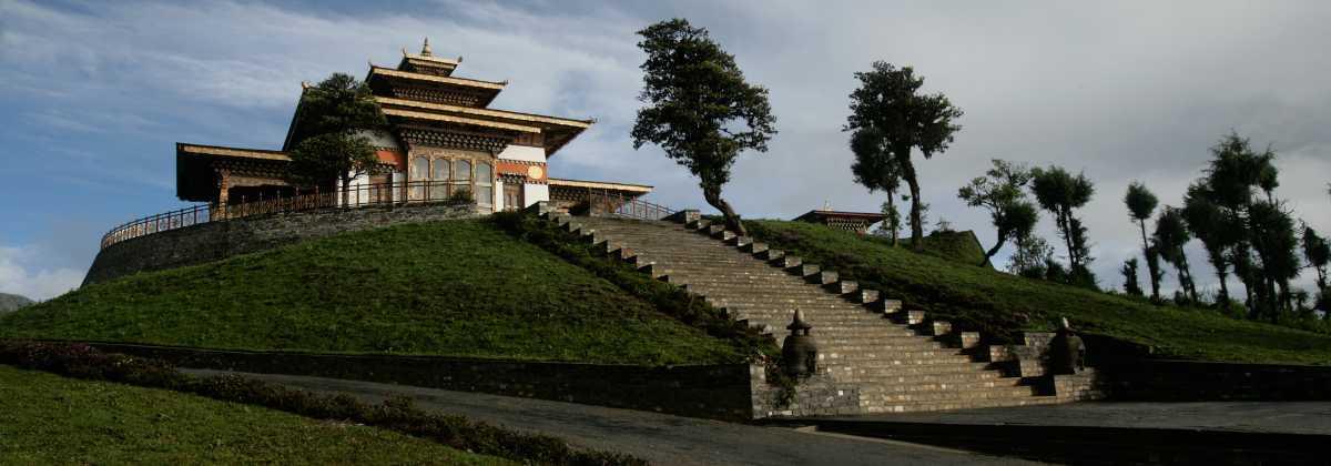 Druk Wangyal Lhakhang at Dochula Pass Bhutan