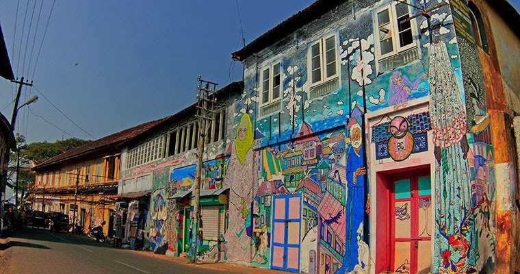 Kochi Biennale Streets contemporary art
