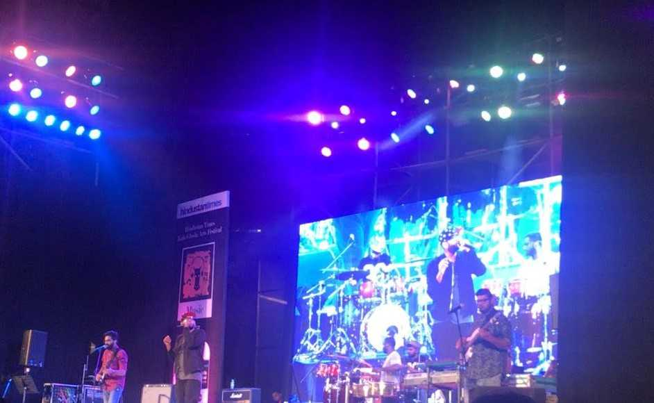 The amazing Benny Dayal concert that we attended!