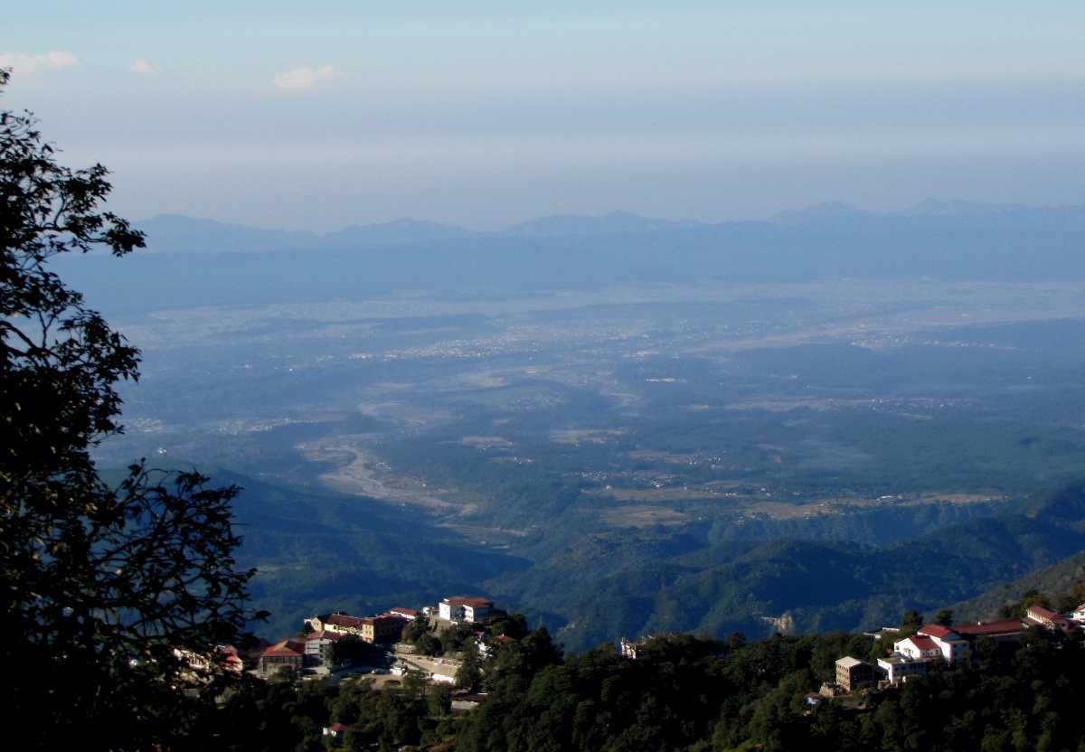 Uttarakhand Dehradun Valley from Landour