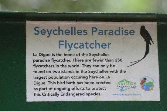 Veuve Reserve, National Parks in Seychelles